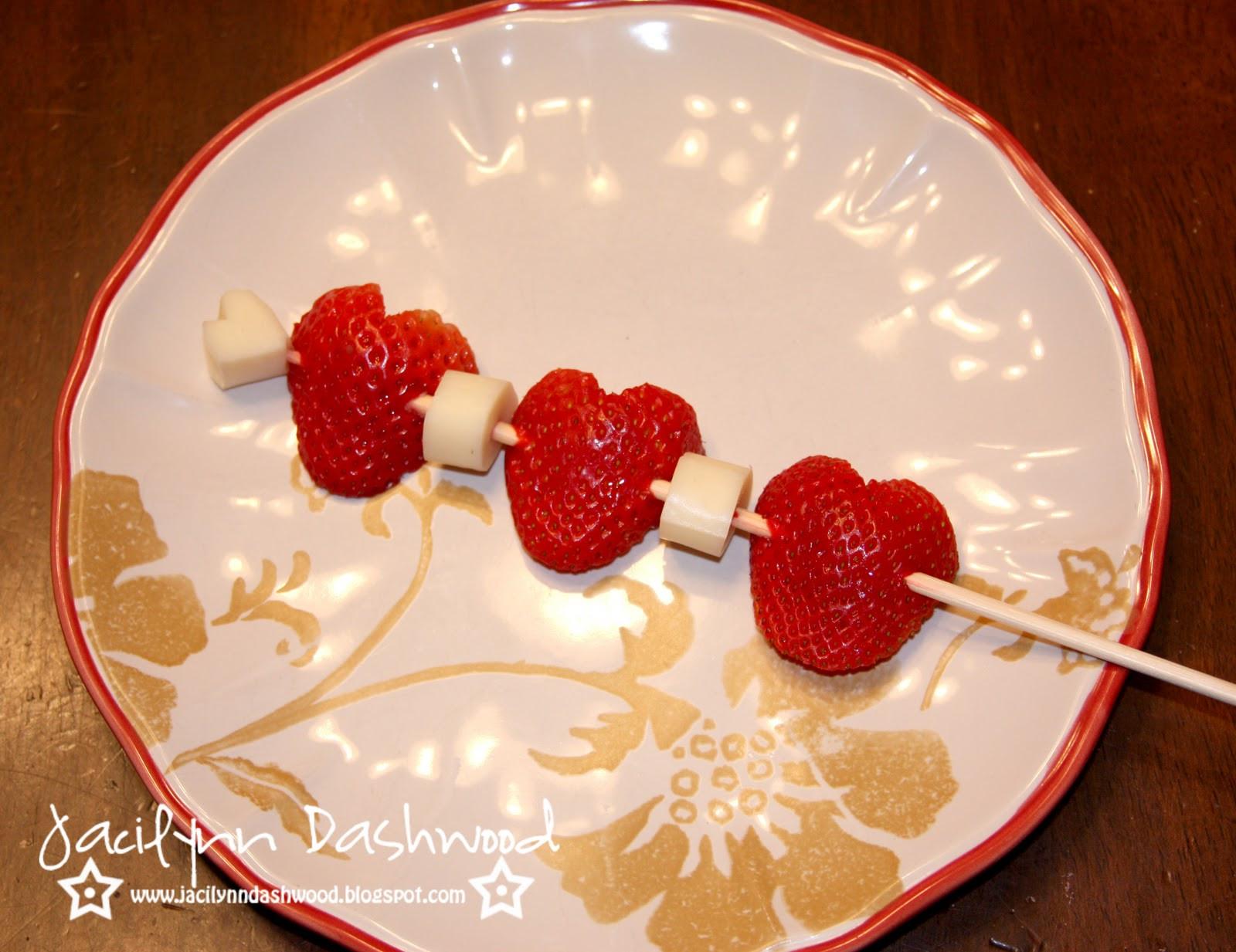 Valentine Healthy Snacks  Jacilynn Dashwood Healthy School Valentine s snack