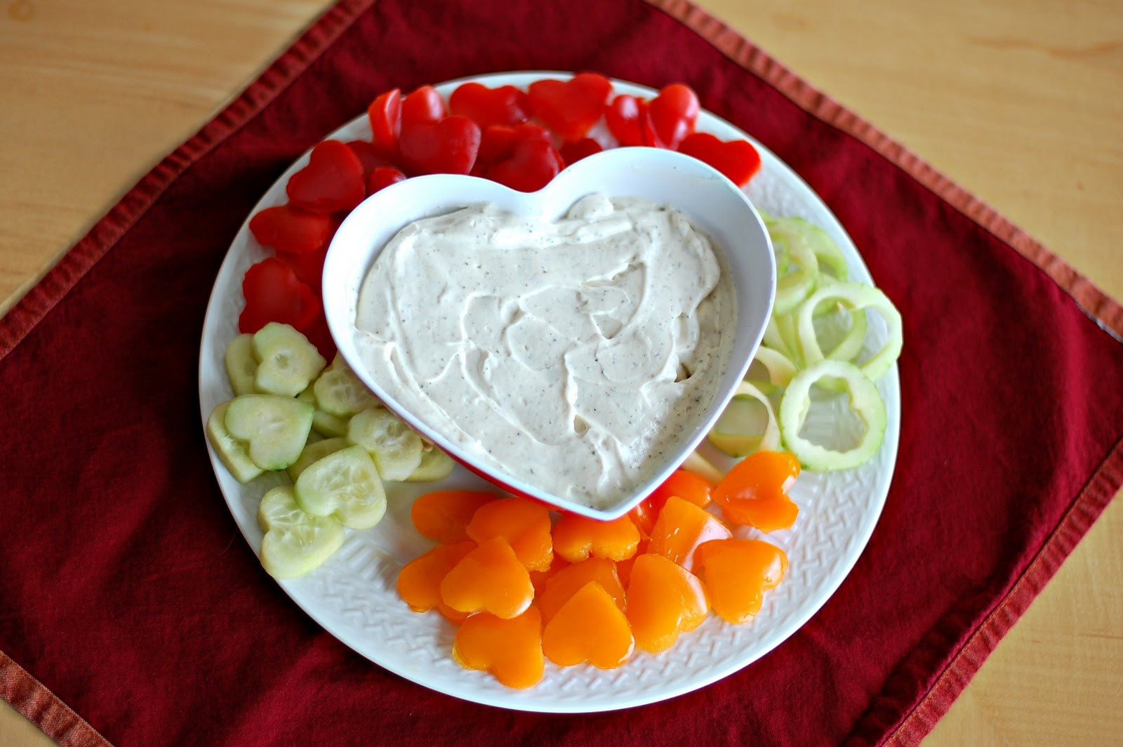 Valentine Healthy Snacks  Art From My Table Healthy Valentine Snack