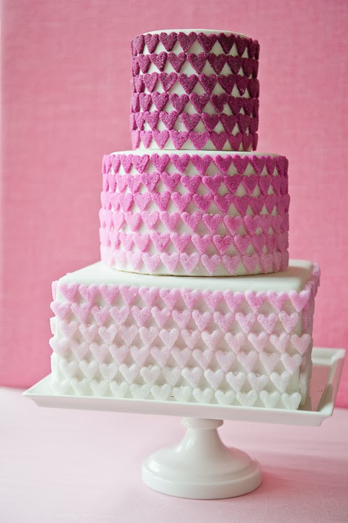 Valentine Wedding Cakes  Memorable Wedding Charming Valentine s Wedding Cakes