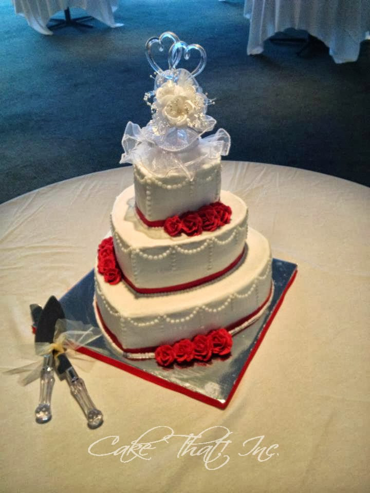 Valentines Wedding Cakes  Cake That Inc Valentine Wedding