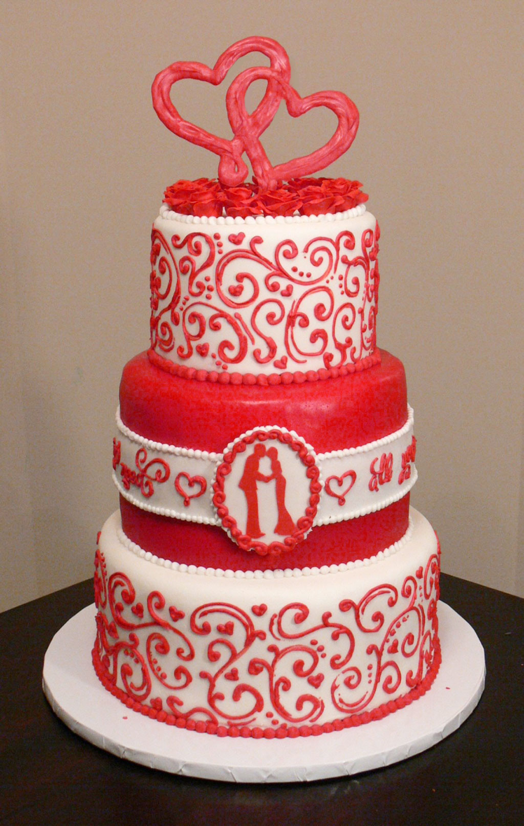 Valentines Wedding Cakes  Valentines Wedding Cake Wedding Cake Cake Ideas by