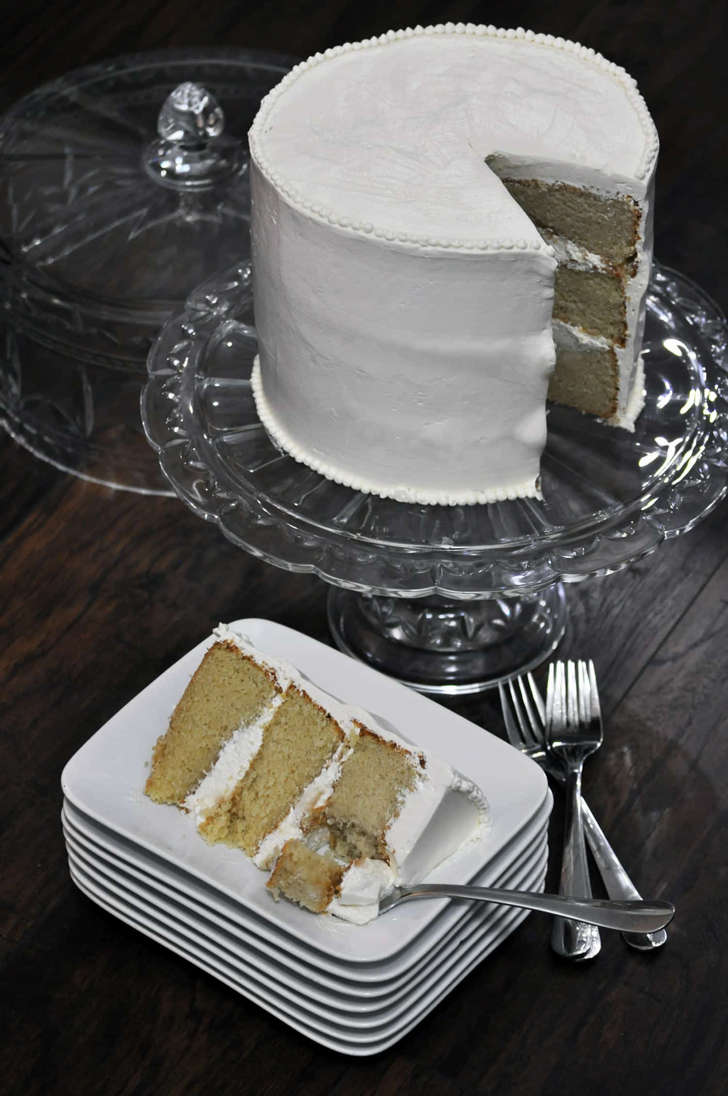 Vanilla Wedding Cake Recipes  Best Vanilla Cake Recipe Ever • Cakes