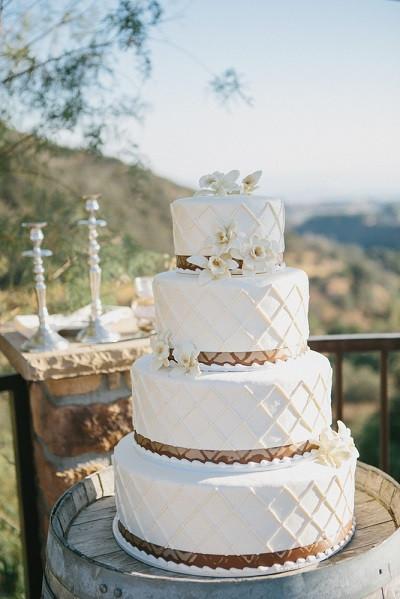 Vanilla Wedding Cakes  8 Most Popular Wedding Cake Flavors of 2014