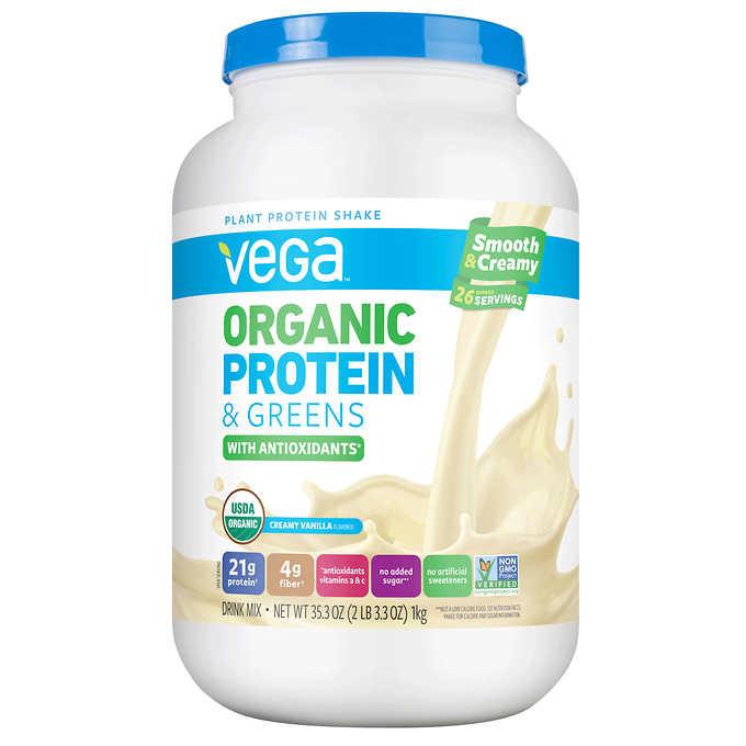 Vega organic Protein and Greens 20 Best Ideas Vega organic Protein Powder Vanilla 35 3oz