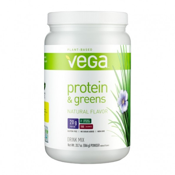 Vega Organic Protein And Greens  Vega Protein and Greens Natural Poudre sur nu3