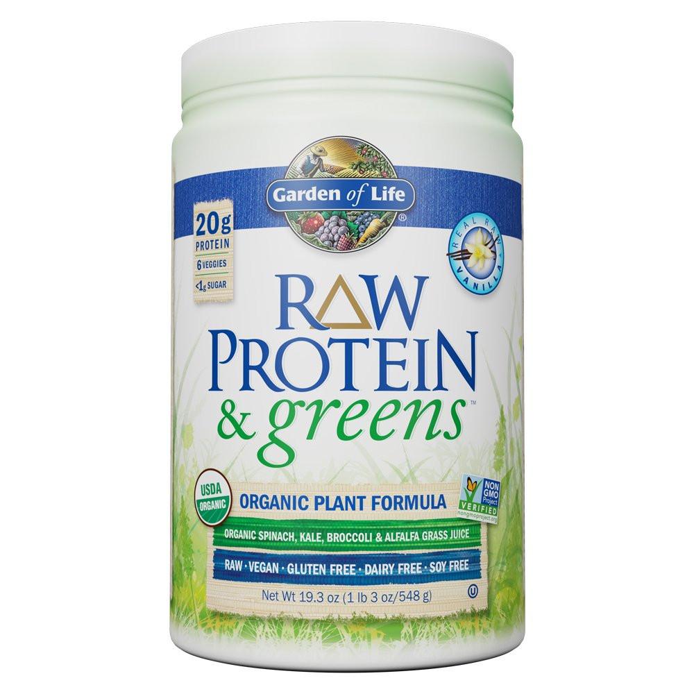 Vega Organic Protein And Greens  Amazon Garden of Life Organic Vegan Protein Powder