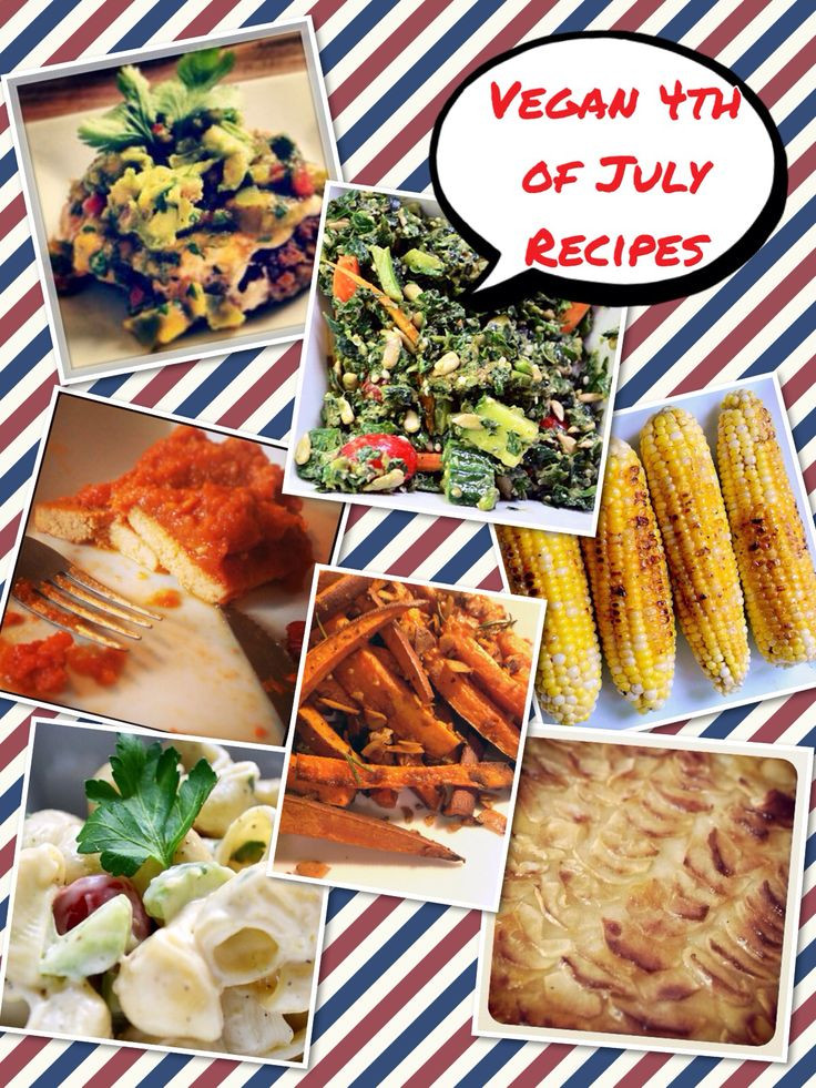 Vegan 4Th Of July Recipes  1000 images about Fourth of July Recipe Ideas on