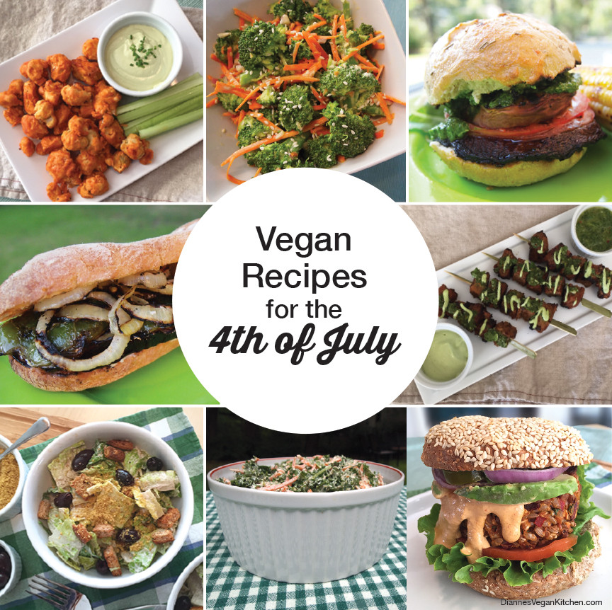 Vegan 4th Of July Recipes the 20 Best Ideas for 10 Vegan Recipes for the 4th Of July Dianne S Vegan Kitchen