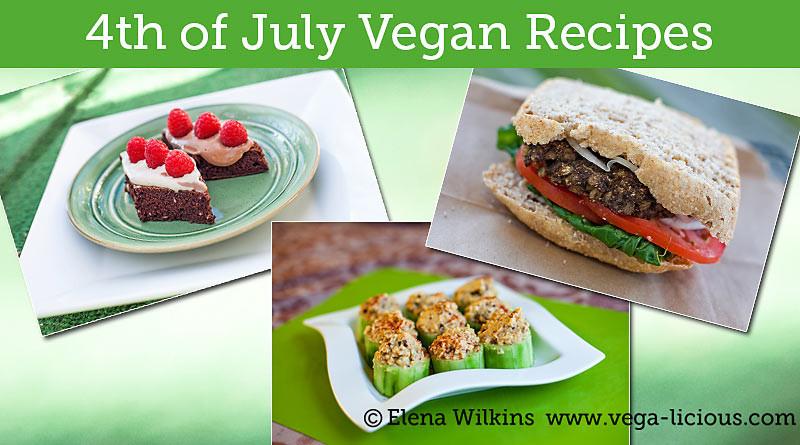 Vegan 4Th Of July Recipes  7 Fourth of July Vegan Recipes