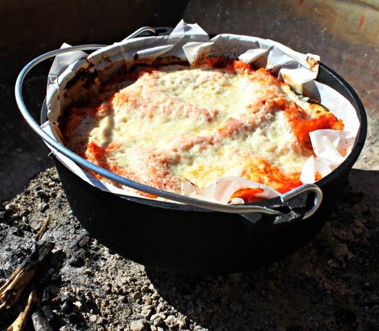 Vegan Dutch Oven Camping Recipes  Dutch Oven Ve arian Lasagna Trek Southwest