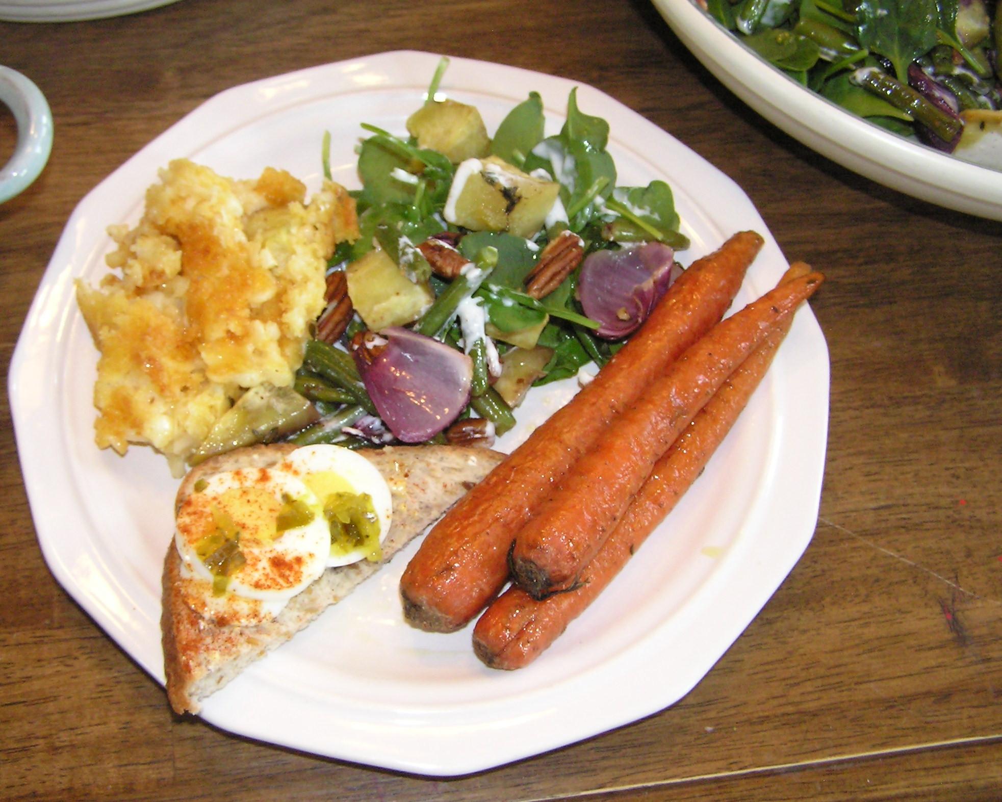 Vegan Easter Dinner  301 Moved Permanently