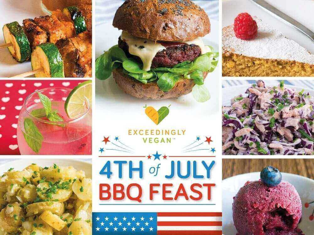Vegan Fourth Of July Recipes  Vegan 4th of July BBQ special 8 deliciously easy vegan