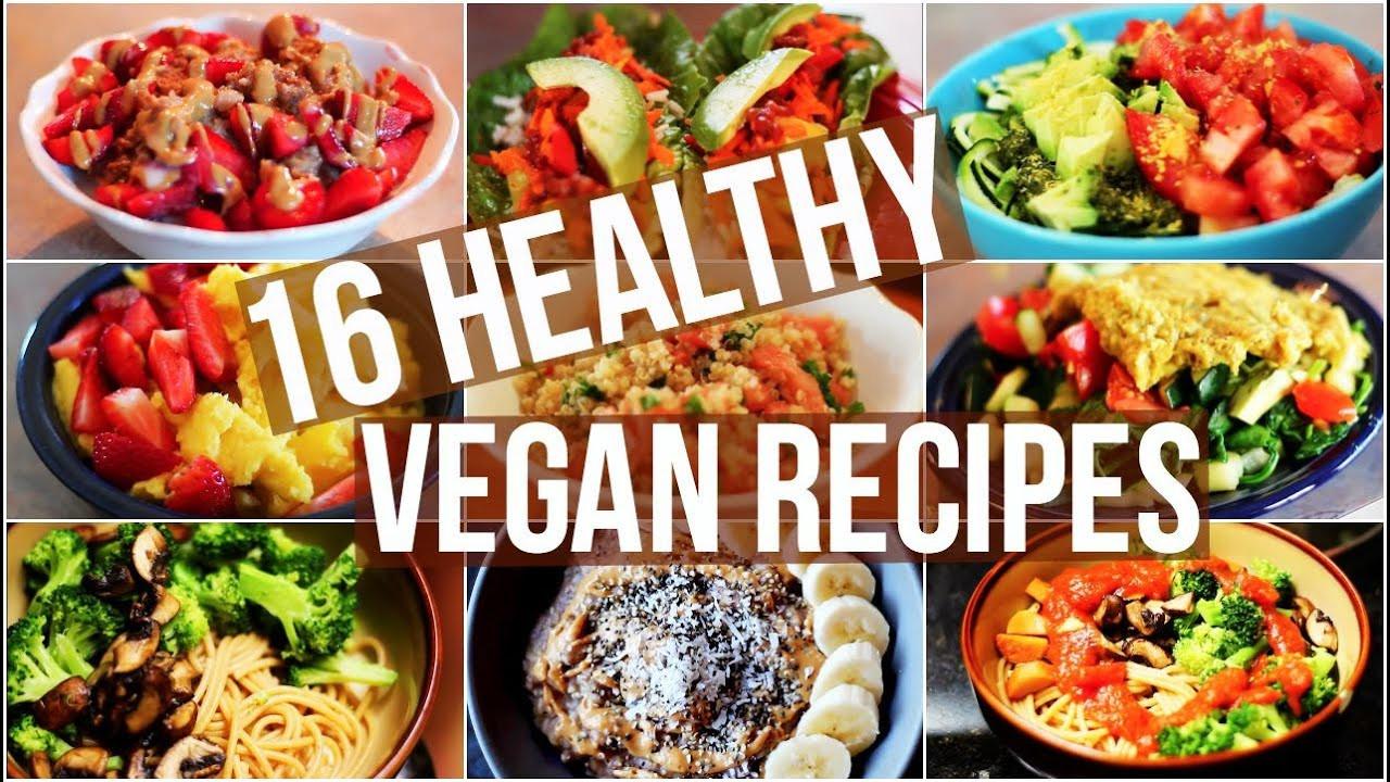 Vegan Healthy Dinner Recipes  My 16 Favourite Healthy Vegan Recipes