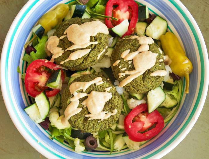 Vegan Middle Eastern Recipes  Vegan Middle Eastern Recipes Lentil Falafel Salad