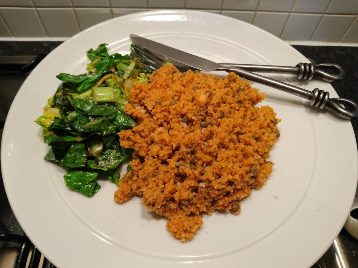 Vegan Middle Eastern Recipes  Value Vegans – Middle Eastern Flavoured Grains – 25p Per