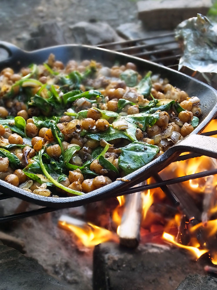 Vegan Middle Eastern Recipes  Vegan Camping Recipes Middle Eastern Spiced Chickpeas