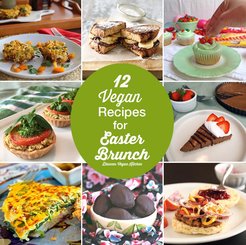 Vegan Recipes For Easter  12 Vegan Recipes for Easter Brunch Dianne s Vegan Kitchen