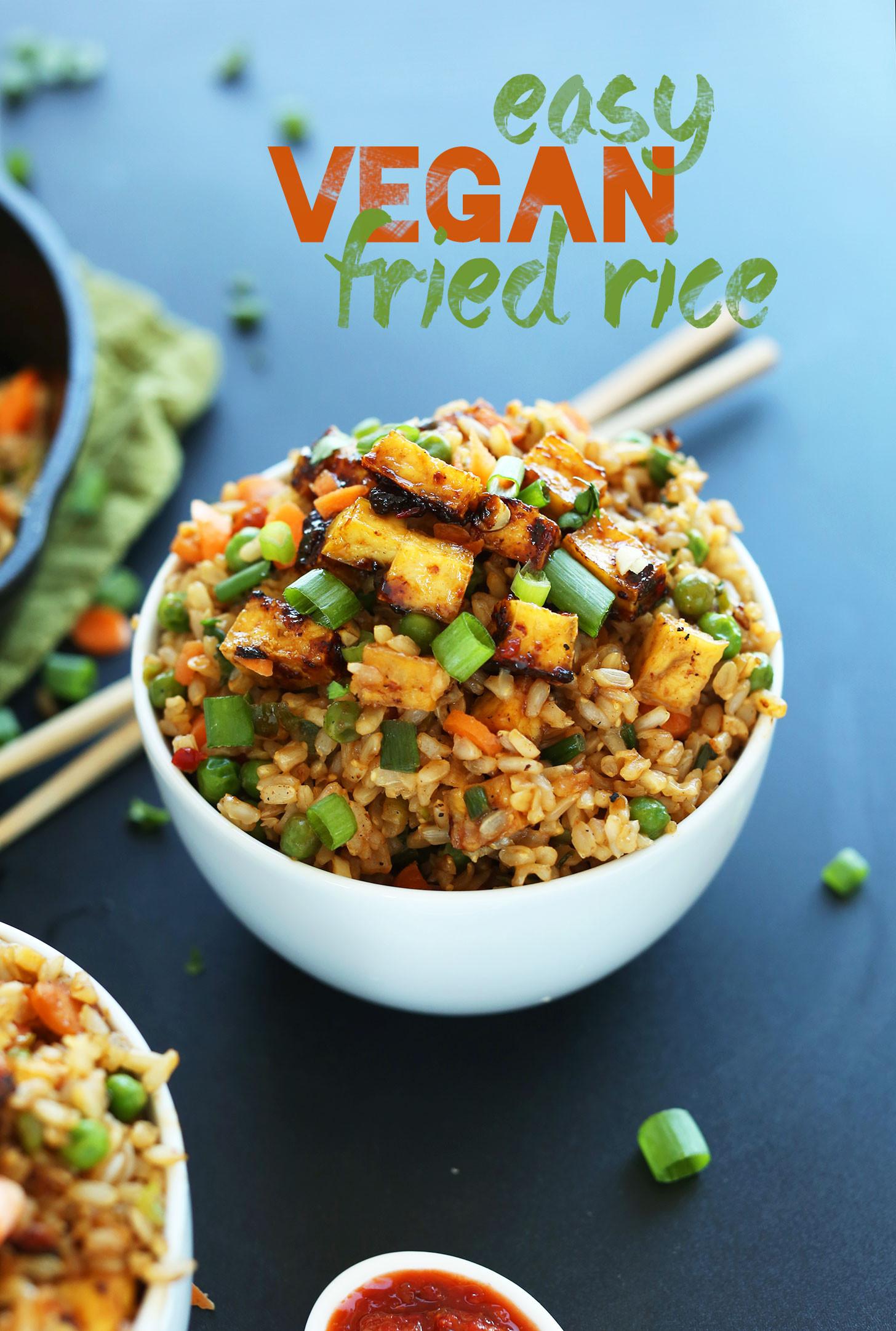 Vegan Recipes Healthy  Vegan Fried Rice