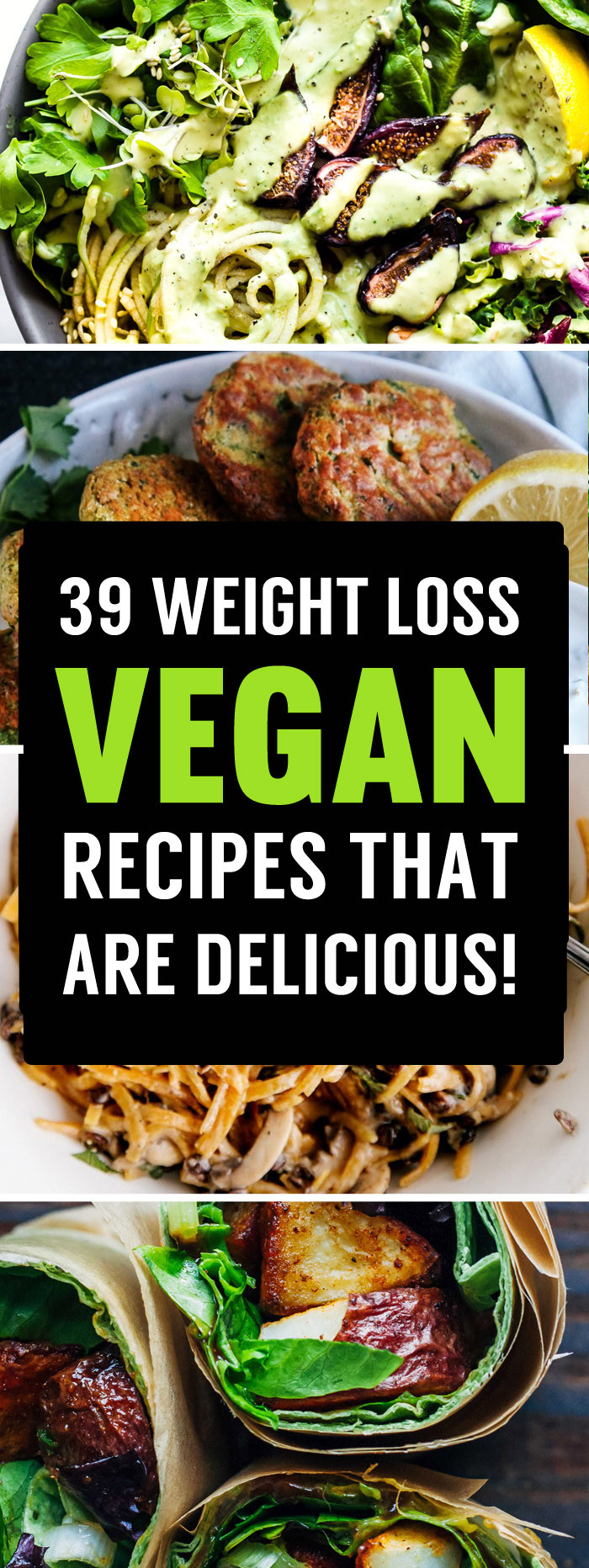 Vegan Recipes Healthy  39 Delicious Vegan Recipes That Are Perfect For Losing