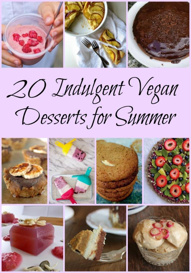 Vegan Summer Desserts  20 summer desserts perfect for vegans
