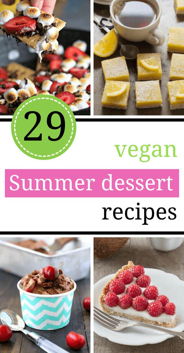 Vegan Summer Desserts  29 Easy Vegan Summer Dessert Recipes Light Few