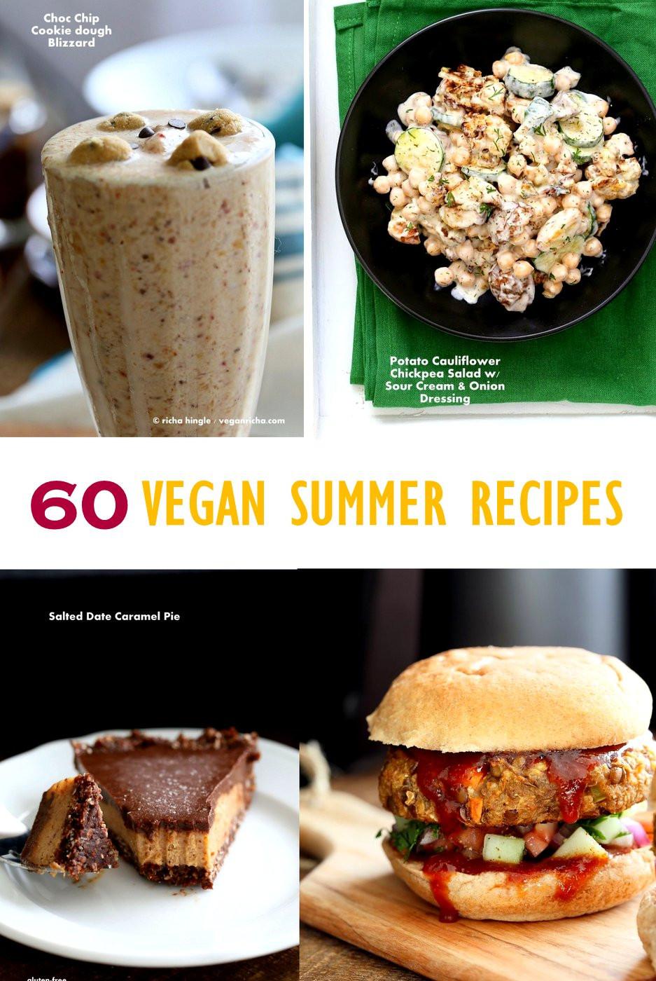 Vegan Summer Recipes  60 Vegan Summer Recipes for Barbecue Grilling Potlucks