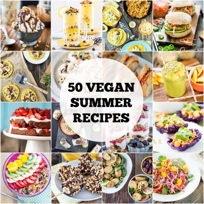 Vegan Summer Recipes  50 Vegan Summer Recipes
