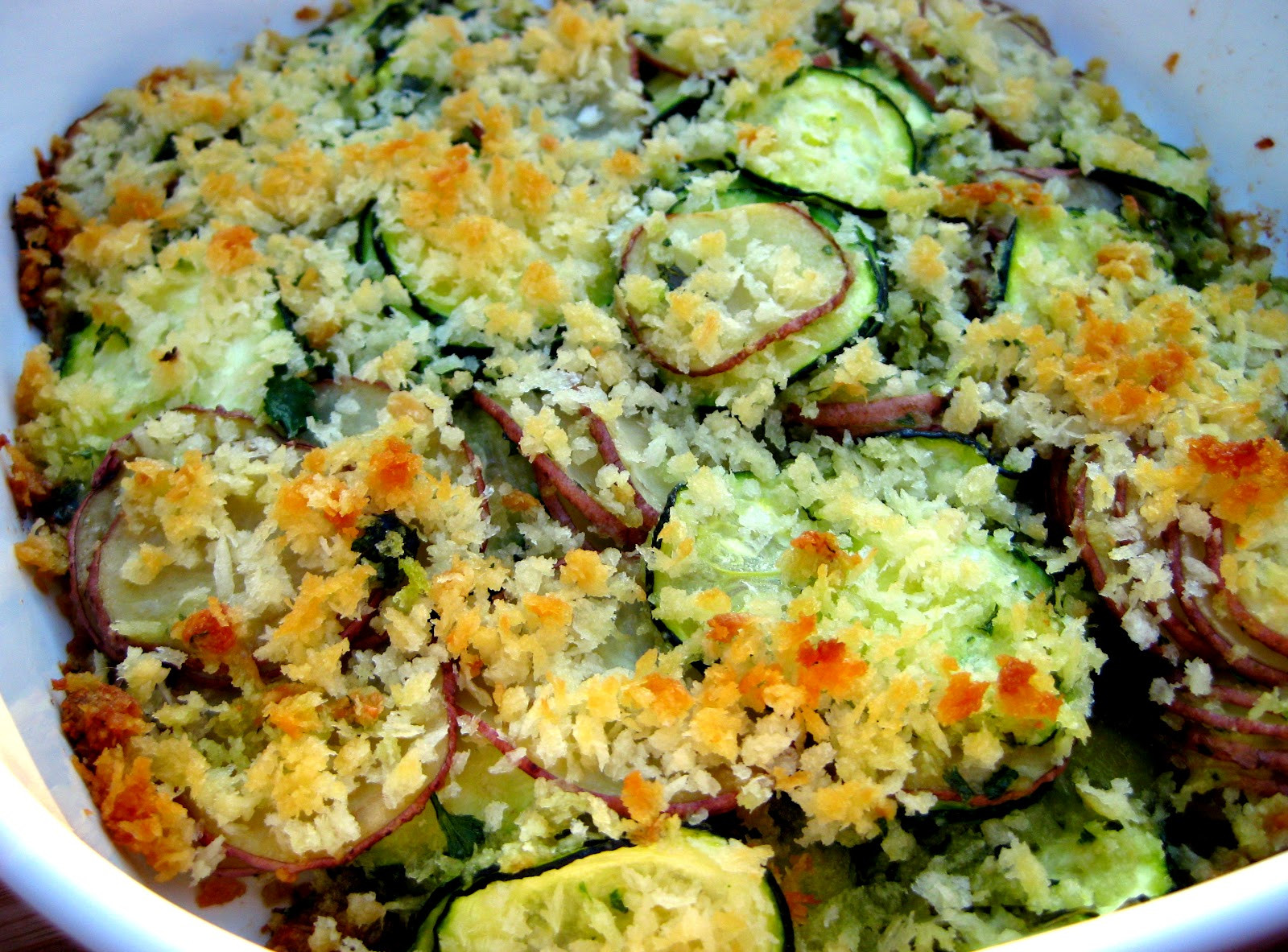Vegan Summer Squash Recipes  Summer Squash Gratin Recipe — Dishmaps