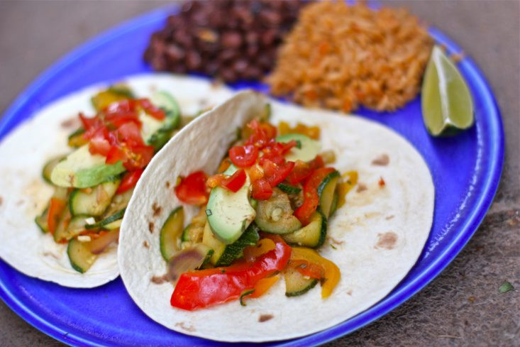 Vegan Summer Squash Recipes  Summer Squash Tacos Veganuary