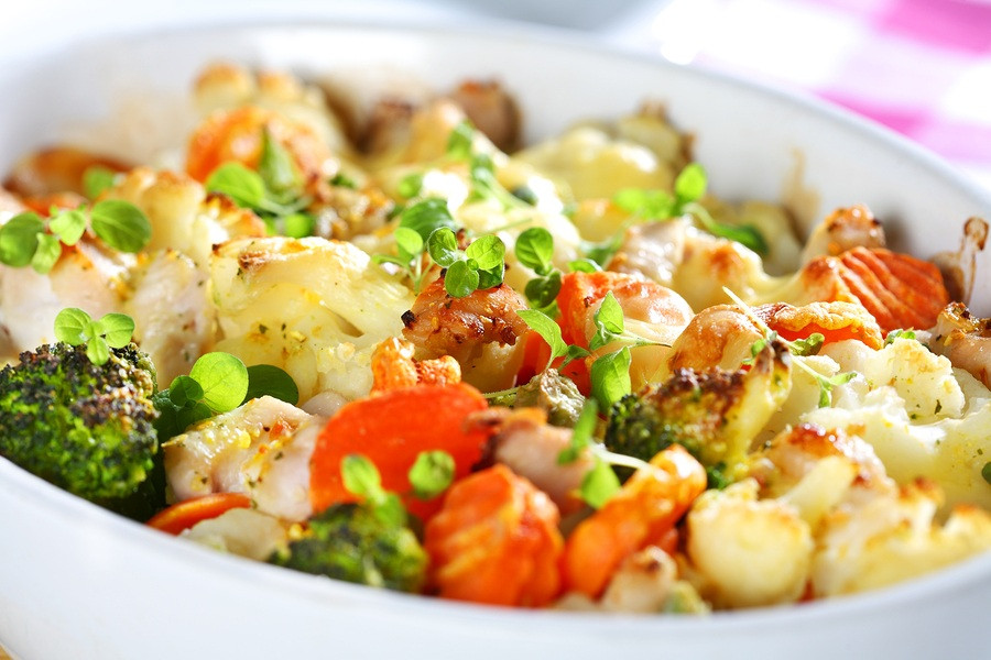 Vegetable Casserole Healthy  Chicken and Ve able Casserole