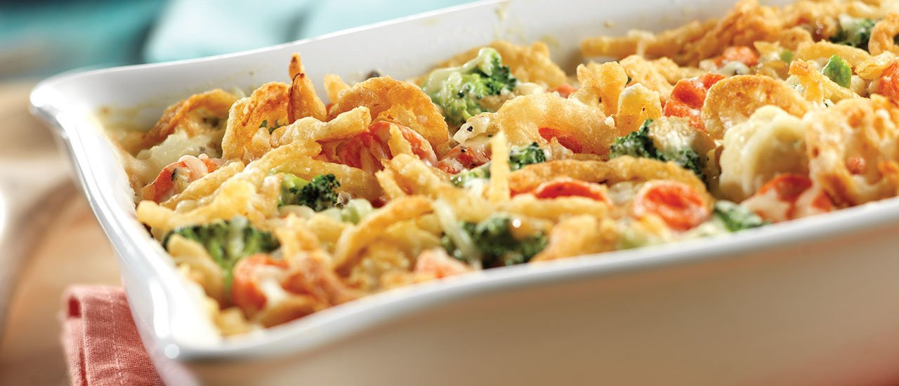 Vegetable Casserole Healthy  Swiss Cheese & Ve able Casserole Recipe