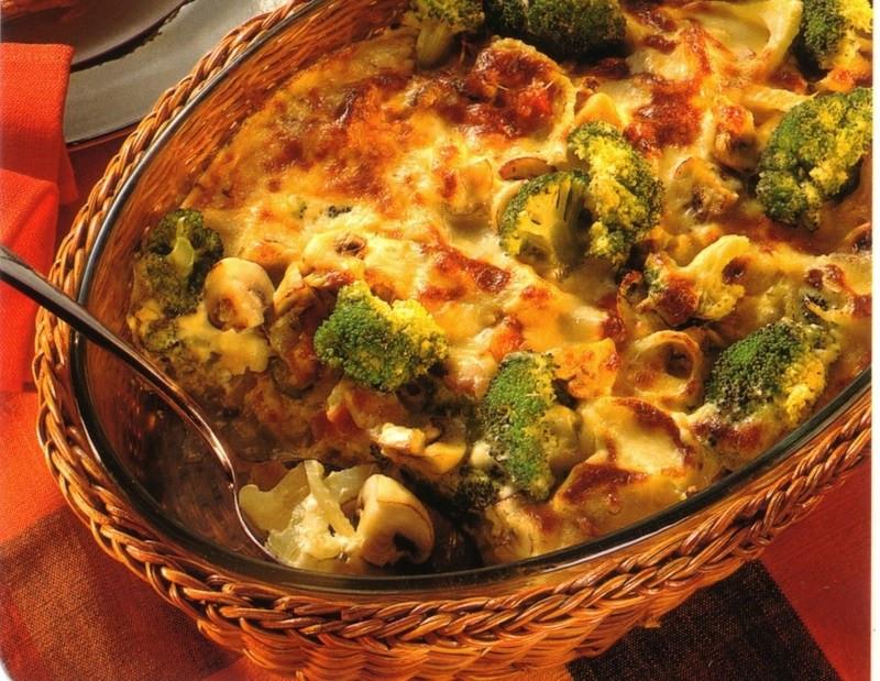 Vegetable Casserole Healthy  Ham Ve able Casserole • Best German Recipes