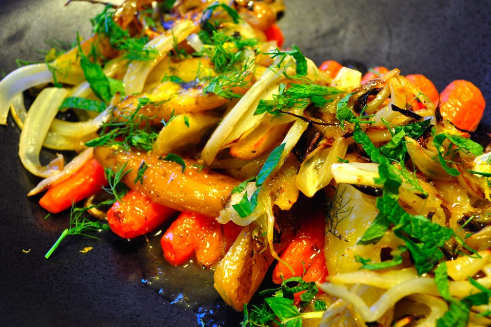 Vegetable Side Dishes For Easter Dinner  The ex Expatriate s Kitchen Caramelized Fennel and Root