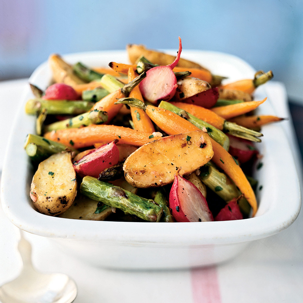 Vegetable Side Dishes For Easter Dinner  Roasted Baby Spring Ve ables Recipe