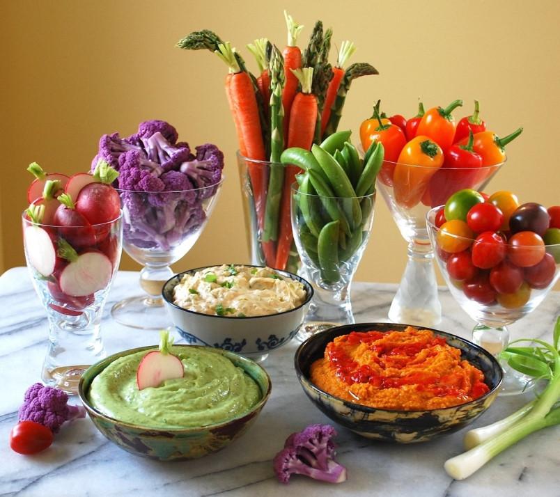 Vegetables For Easter Dinner  Eric Akis Lighten up with veggies 'n' dip