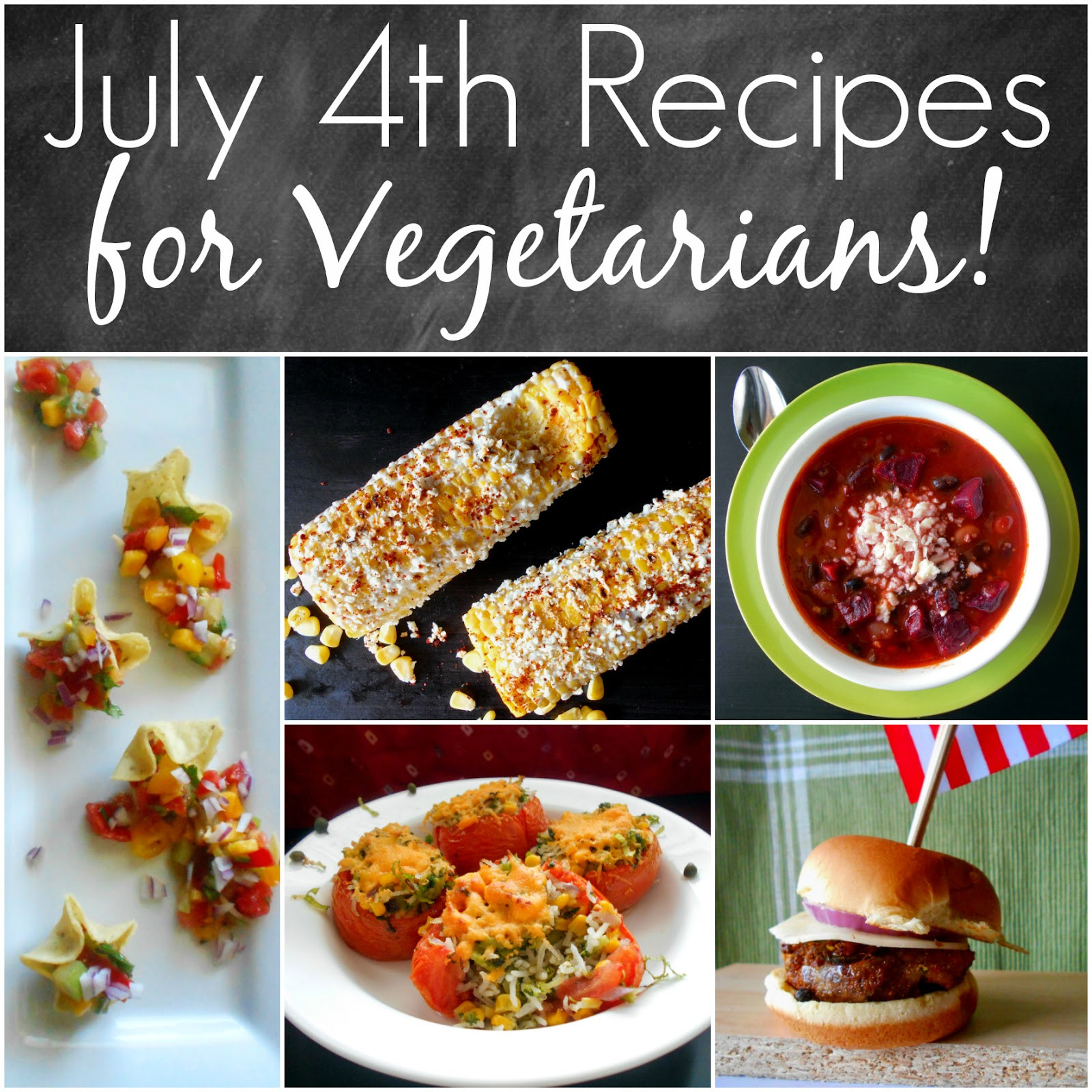 Vegetarian 4Th Of July Recipes  5 Ve arian Dishes for July 4th from Rini Diane s