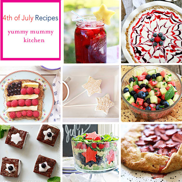 Vegetarian 4Th Of July Recipes  Best 4th of July Recipes Yummy Mummy Kitchen