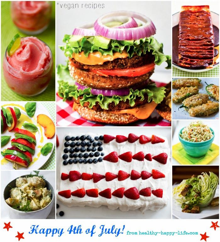 Vegetarian 4Th Of July Recipes  healthy ve arian 4th of july recipes