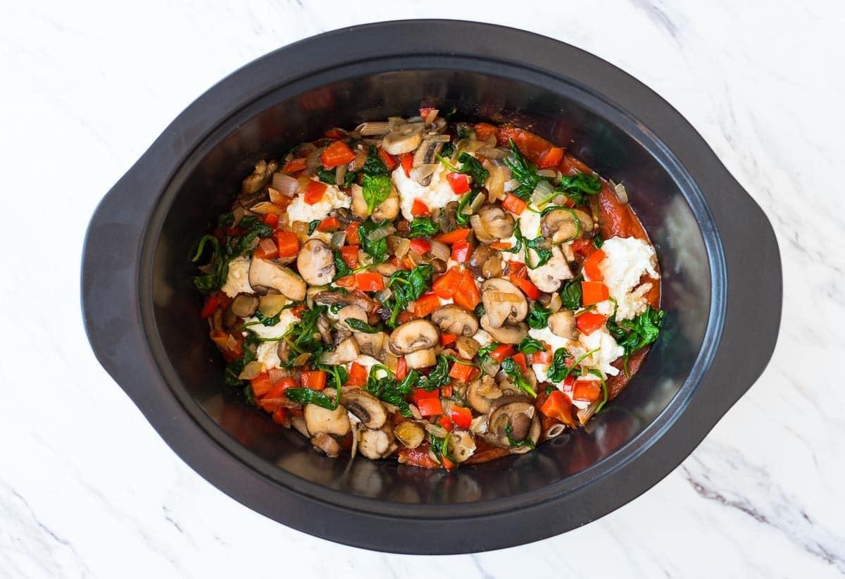 Vegetarian Crock Pot Recipes Healthy  Crock Pot Pasta