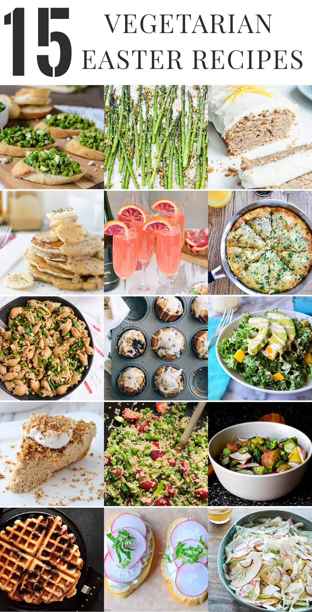 Vegetarian Easter Dinner Ideas  Healthy Ve arian Easter Recipes Delish Knowledge