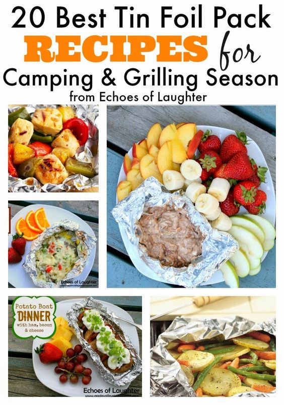Vegetarian Foil Packet Recipes Camping  grilled ve able pancetta foil packets