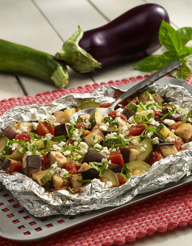 Vegetarian Foil Packet Recipes Camping  11 best Labor Day Recipes images on Pinterest