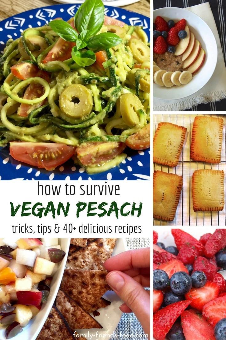 Vegetarian Passover Recipes  How to survive Vegan Pesach Tricks tips & terrific