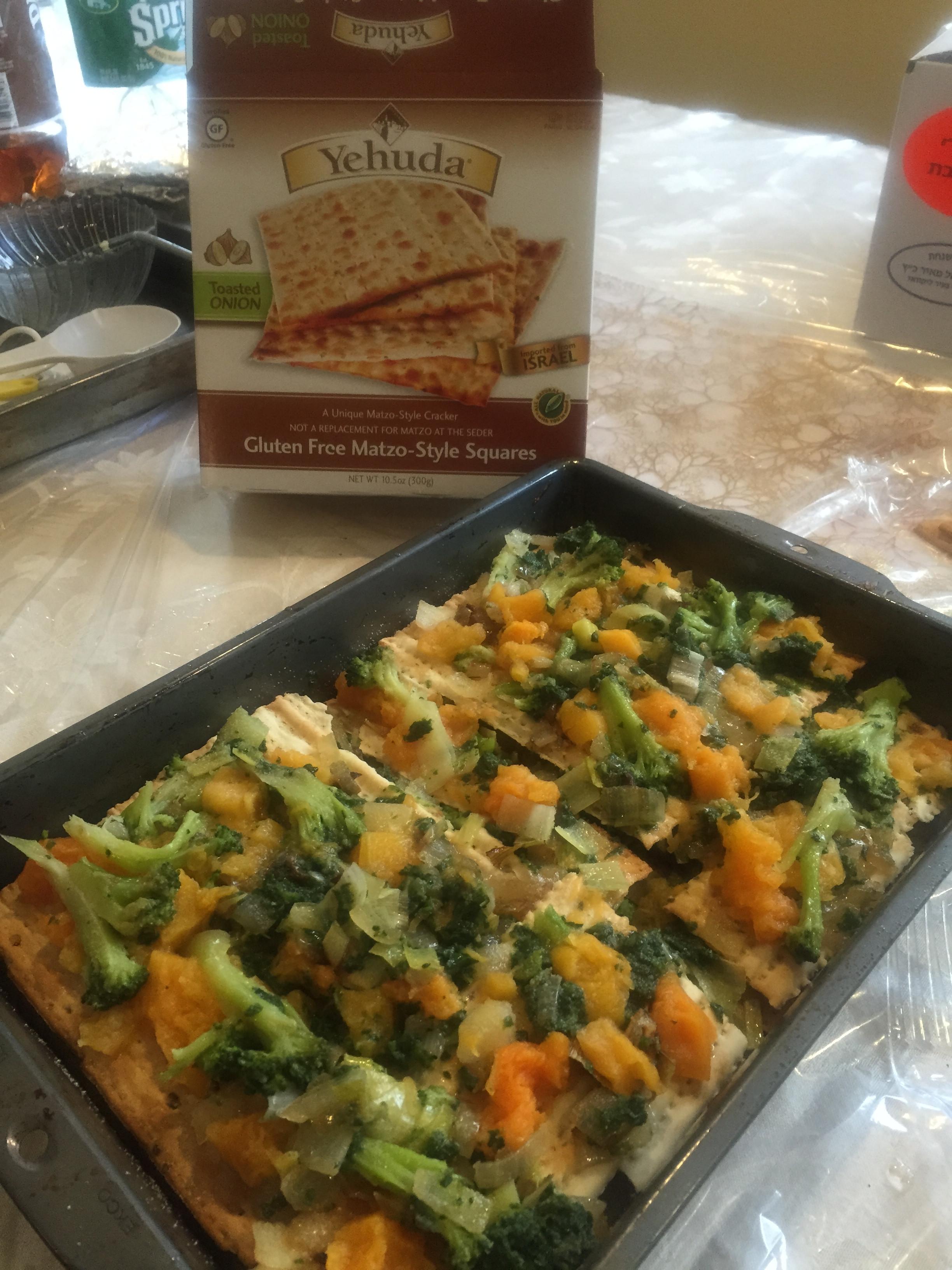 Vegetarian Passover Recipes  Ve able Matzo Kugel Recipes