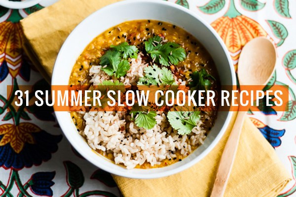 Vegetarian Recipes For Summer  31 Ve arian Slow Cooker Recipes for Summer
