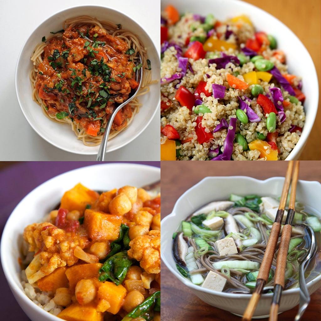 Vegetarian Recipes Healthy  Healthy Vegan Dinner Recipes
