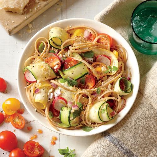 Vegetarian Summer Dinner Recipes  Summer Veggie Pasta Ve arian Summer Entrées