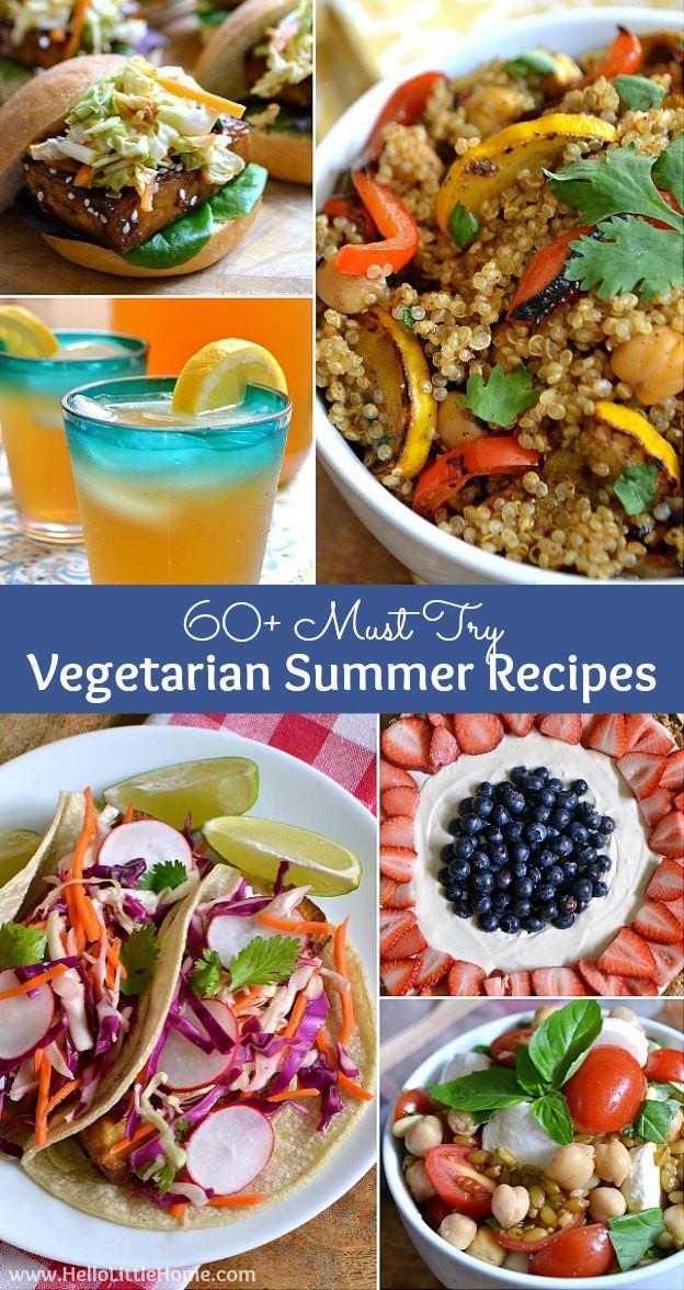 Vegetarian Summer Recipes  60 Ve arian Summer Recipes