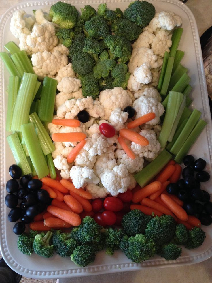 Veggies For Easter Dinner  25 best ideas about Ve able trays on Pinterest