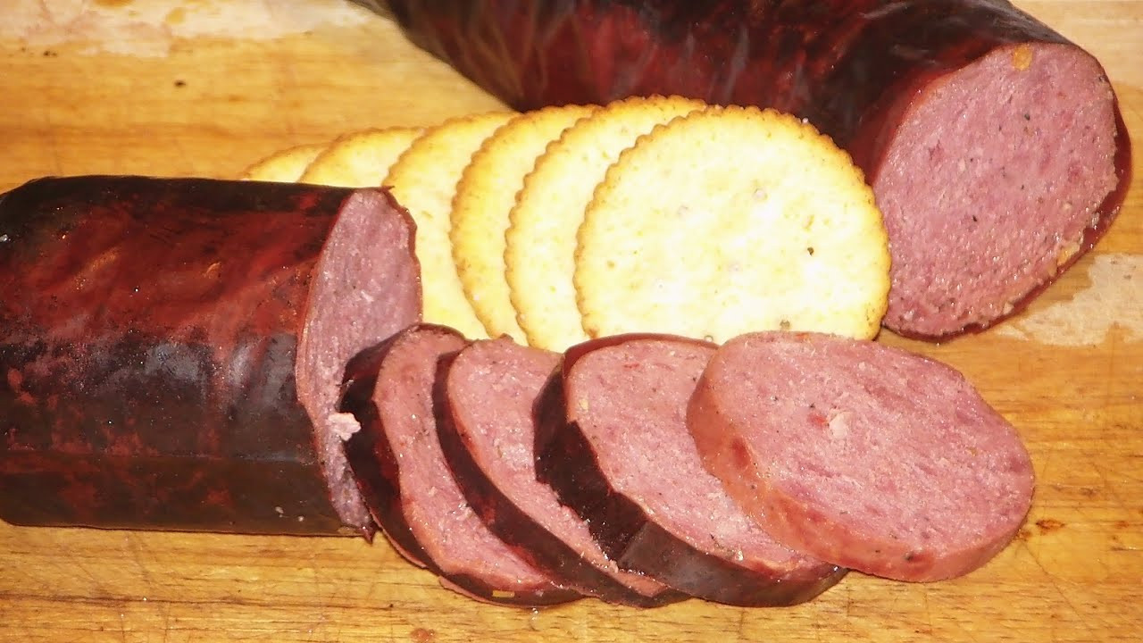 Venison Summer Sausage Recipes  JTO 117 HICKORY SMOKED DEER SUMMER SAUSAGE